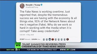 Negative news is fake news? Trump says yes