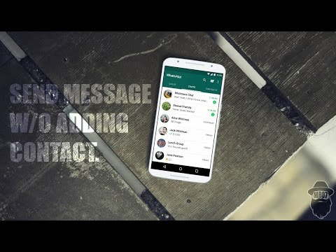 How to Send WhatsApp Message to Unsaved Number?