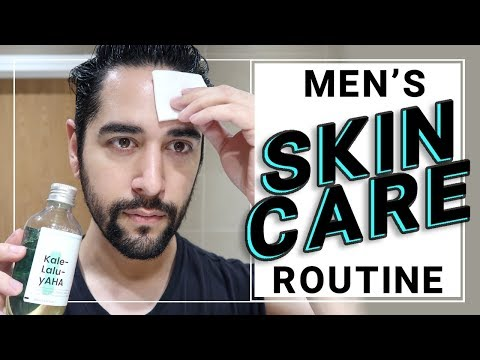 Men's Skin Care Routine 2018 - Oily Skin. My Best Routine EVER! ✖ James Welsh