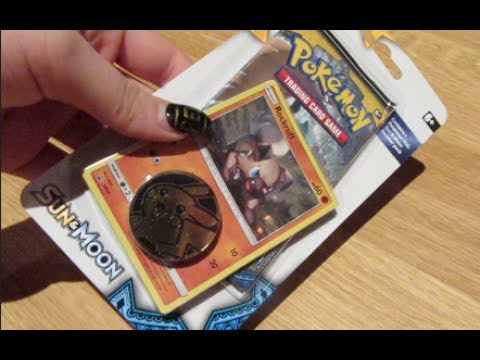 OPENING a Rock Ruff Sun and Moon Blister Pack! - Pokemon TCG