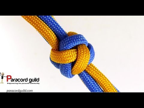 Over-two footrope knot