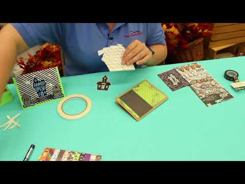 Crankin' Out Crafts -  ep538 Halloween Card Making