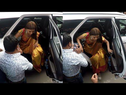 Xxx Mp4 Telugu Top Heroine Kajal Agarwal Looking Awesome At Tirupati Visit 3gp Sex