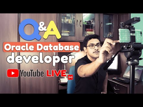 Live 🔴 Let's talk about Oracle Database Dev Certification