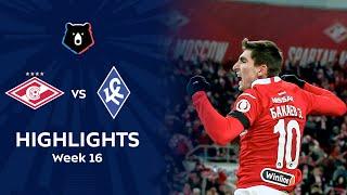 Highlights Spartak vs Krylia Sovetov (2-0)