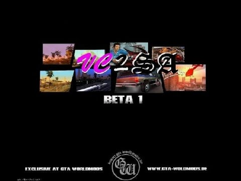 HOW TO INSTALL GTA SAN ANDREAS VC2SA MOD WORKING