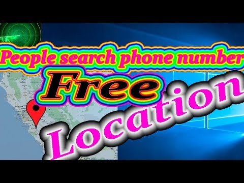 People search phone number || How to locate via cell phone Number|| FREE!!!  How to find a person