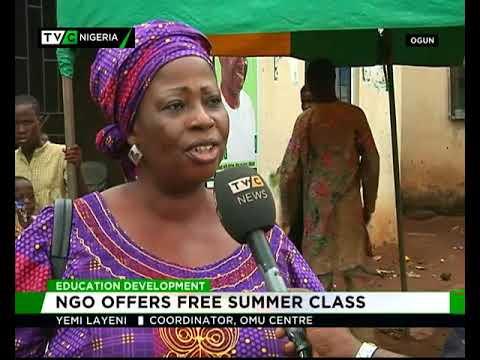 Education development : NGO offers free summer classes