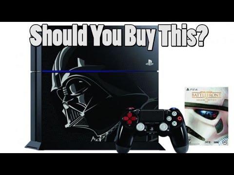 Should You Buy The PS4 Darth Vader Edition?