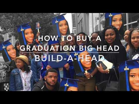 Graduation Big Heads