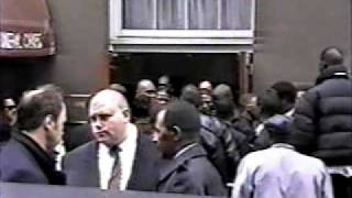 Biggie Smalls Funeral.pt.3.shot By Zulu25..never Seen Before By The Public.97
