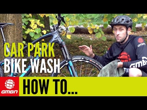 Car Park Bike Wash – How To Clean Your Mountain Bike After A Ride