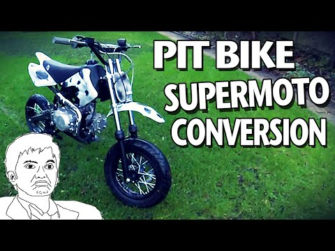 Supermoto Pit Bike Conversion - Road Legal Pit Bike