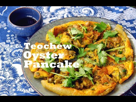 How to Make Original Teochew Style Oyster Omelette (蚝烙)