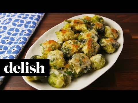 How to Make Smashed Brussels Sprouts | Recipe | Delish