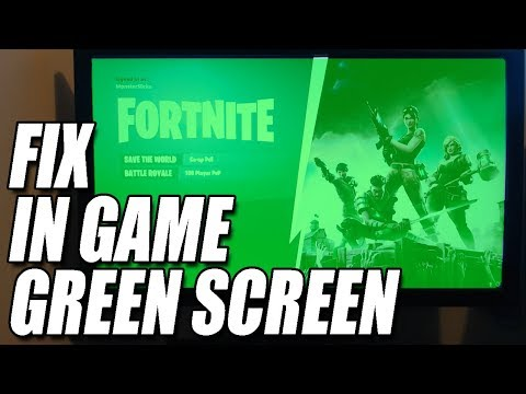 How To Fix Green Screen Flickering in Fortnite & Pubg   WITHOUT DRIVER ROLLBACK