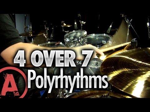 4 Over 7 Polyrhythms - Advanced Drum Lessons