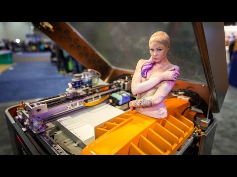 This 3D Printer Builds Full-Color Paper Models!