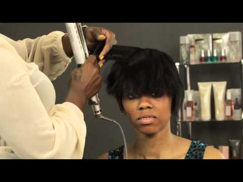 How to Style Short Hair for Black Women : Hair Care & Maintenance