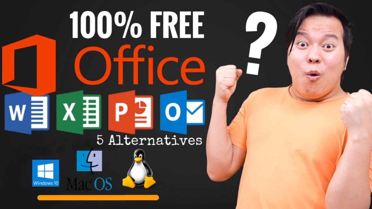 How to Get Microsoft Office Free for Windows , MacOS & Linux  💻💻 5 Best Free Alternatives !