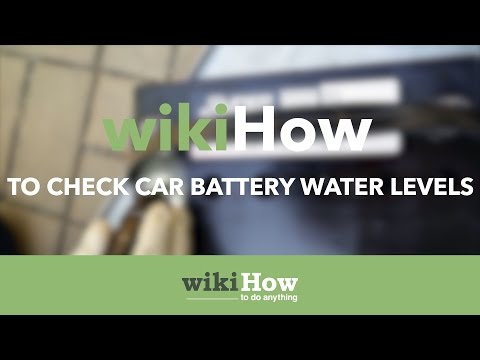 How to Check Car Battery Water Levels