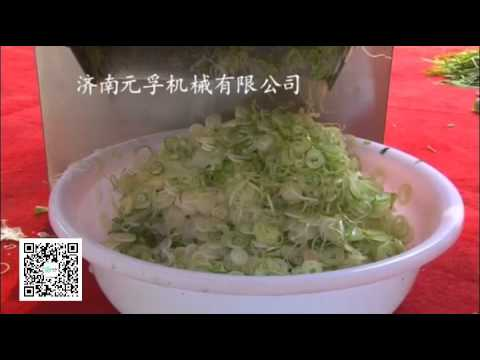 Restaurants Cut green onion machine