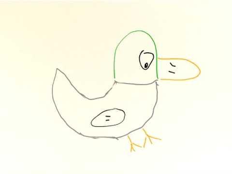 Dancing duck + fart