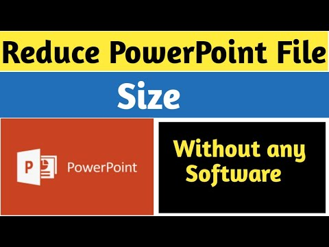 How to Reduce PPT File Size In PowerPoint 2007