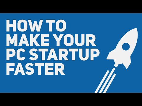 How to Make Your Laptop/Computer StartUp Faster