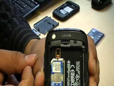 Unpacking Blackberry 9220