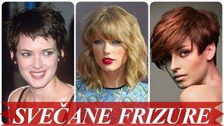 frizure za poludugu kosu