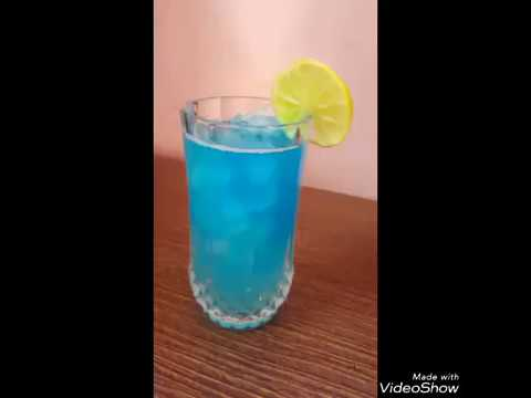Blue Lemonde Drink Recipe| summer drink