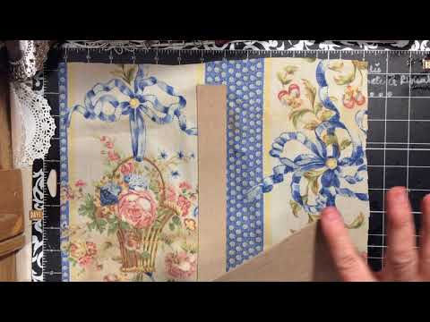 Spring Blossom Junk journal start to done cover from cereal box part 2 | dearjuliejulie