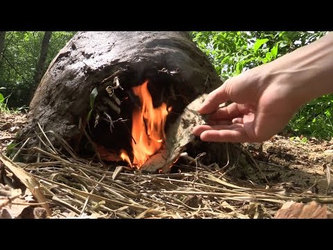 Building A Primitive Earth Oven