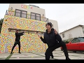 STICKY NOTE PRANK ON HOUSE!