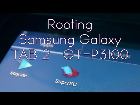 How to root & install CWM on Samsung Galaxy TAB 2 (P3100)
