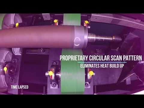 ARCS/Eclipse™ Anilox Roll Laser Cleaning System