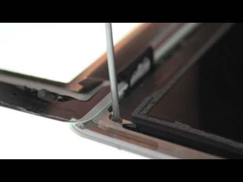 Plastic Bezel Repair - iPad 2 GSM How to Tutorial