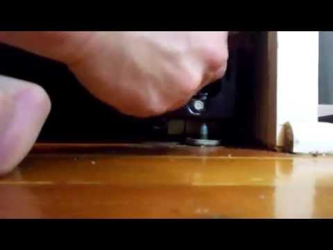 Subzero 550 Refrigerator Removal