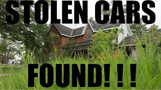 (ABANDONED!) HOUSE WITH STOLEN CARS!!!!!!!