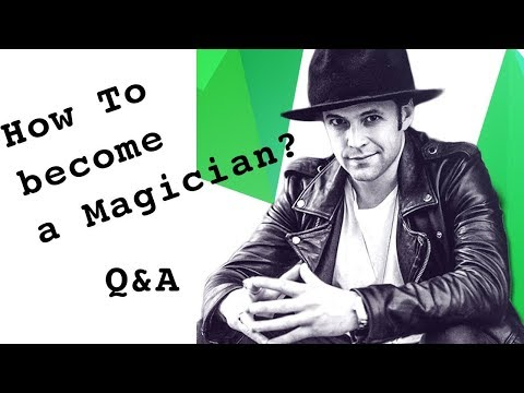 How to become a Real Magician 🎩Q&A- Julien Magic