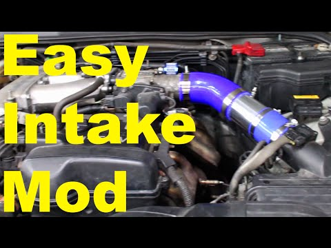 Intake Modification | DIY Intake | is300 Altezza is200