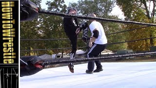 Ripcord Knee - Seth Rollins Ripcord Knee - How its done