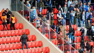 Derby Spartak Trnava - Slovan Bratislava - The fans sector  7. 4. 2018