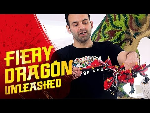 Fire dragon in the sky - Firstbourne – LEGO NINJAGO – 70653 Designer Video