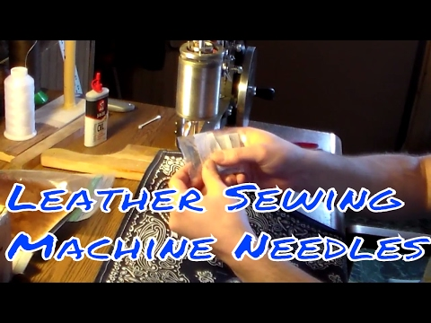 Leather Sewing Machine Needles/New Project