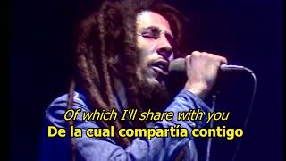 No woman no cry - Bob Marley (LYRICS/LETRA) (Reggae)