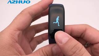 Z17 Smart Bracelet Heart Rate Smart Band Fitness Tracker