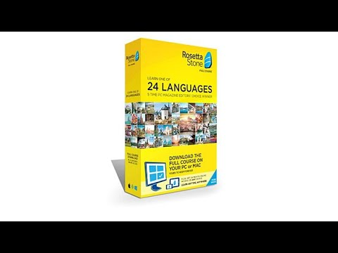Rosetta Stone Language System Lifetime License on PC and...