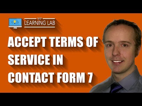 Contact Form 7 Acceptance Disables The Send Button Until The Terms Of Service Are Accepted